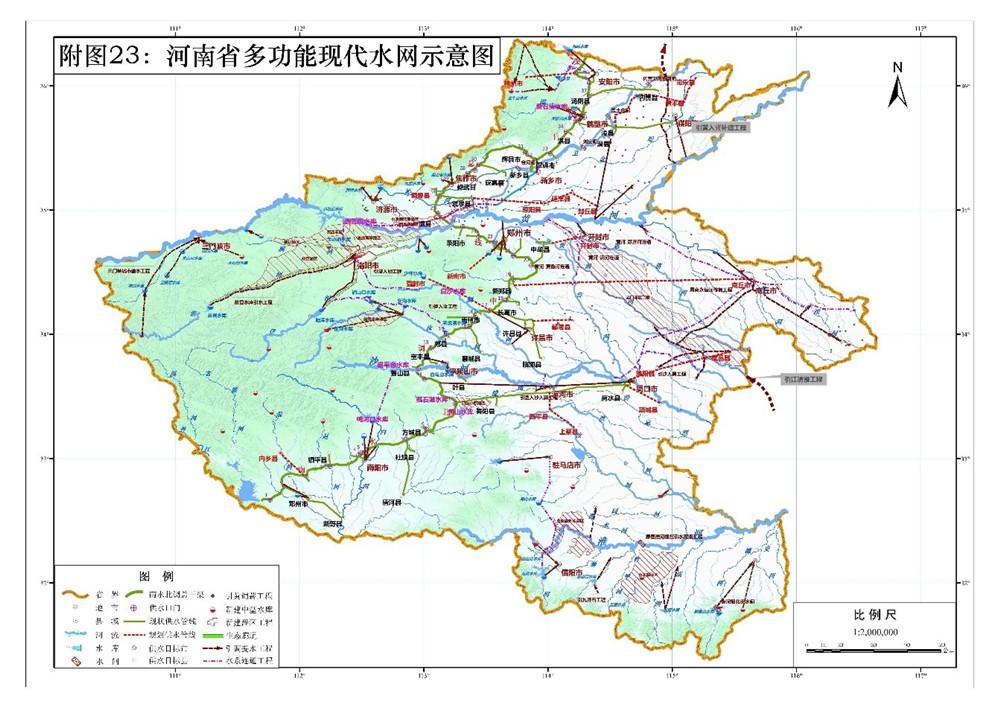 河南省水资源综合利用规划