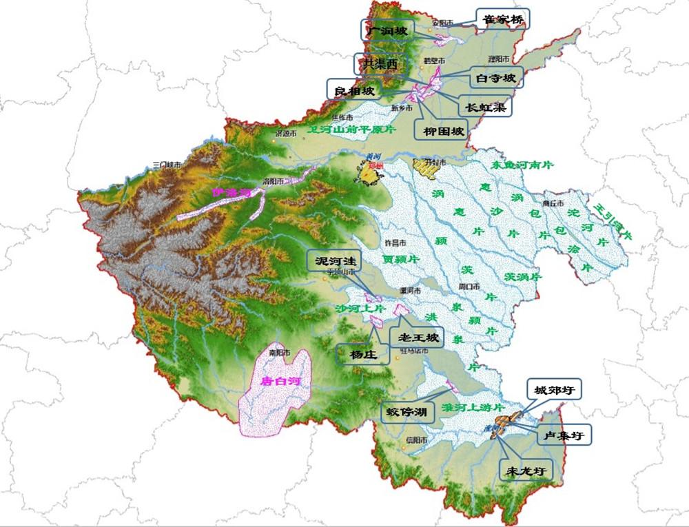 河南省洪水风险图编制项目